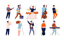 Musicians Characters. Creative...
