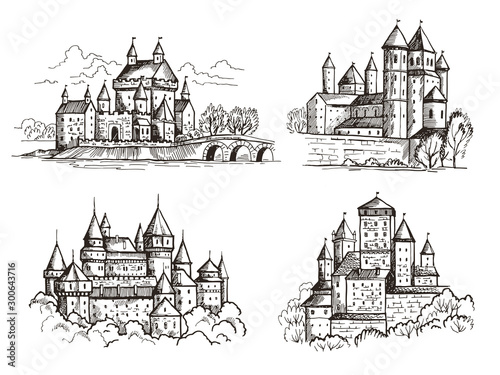 Castles Wallpaper Mural