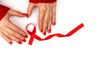 canvas print picture - World AIDS Day background