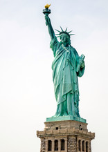 The Statue Of Liberty. New York City. United States Of America.