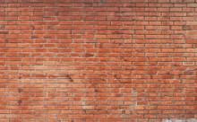 The Background Of The Brick Wa...