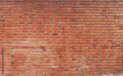 Fototapeta cegła  the-background-of-the-brick-wall-with-dark-orange-is-beautifully-arranged-ancient-wall-grunge