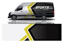 Van Car Wrap Design For Company