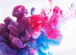 abstract formed by color dissolving in water