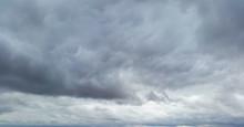 Gloomy Sky With Dark Clouds