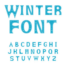 Alphabet Letters. Font For Win...