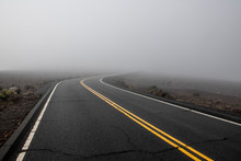 Road To Haleakala Crater In Th...