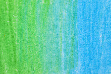 Colorful Hand Drawn Pencil Hatching As Background, Closeup