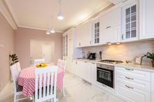 Luxury Modern White Kitchen In...