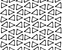 Black And White Geometric Abst...