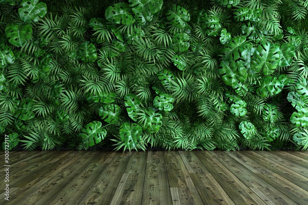 Fototapety, obrazy: Vertical garden wall