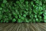Fototapeta Perspektywa 3d - Vertical garden wall