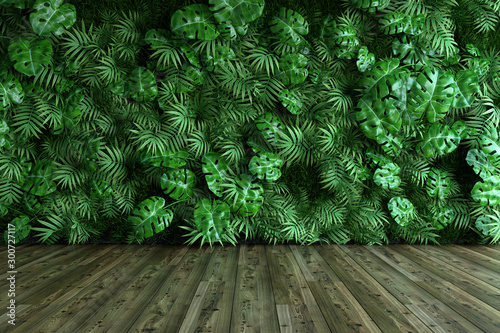 Obraz Vertical garden wall - fototapety do salonu