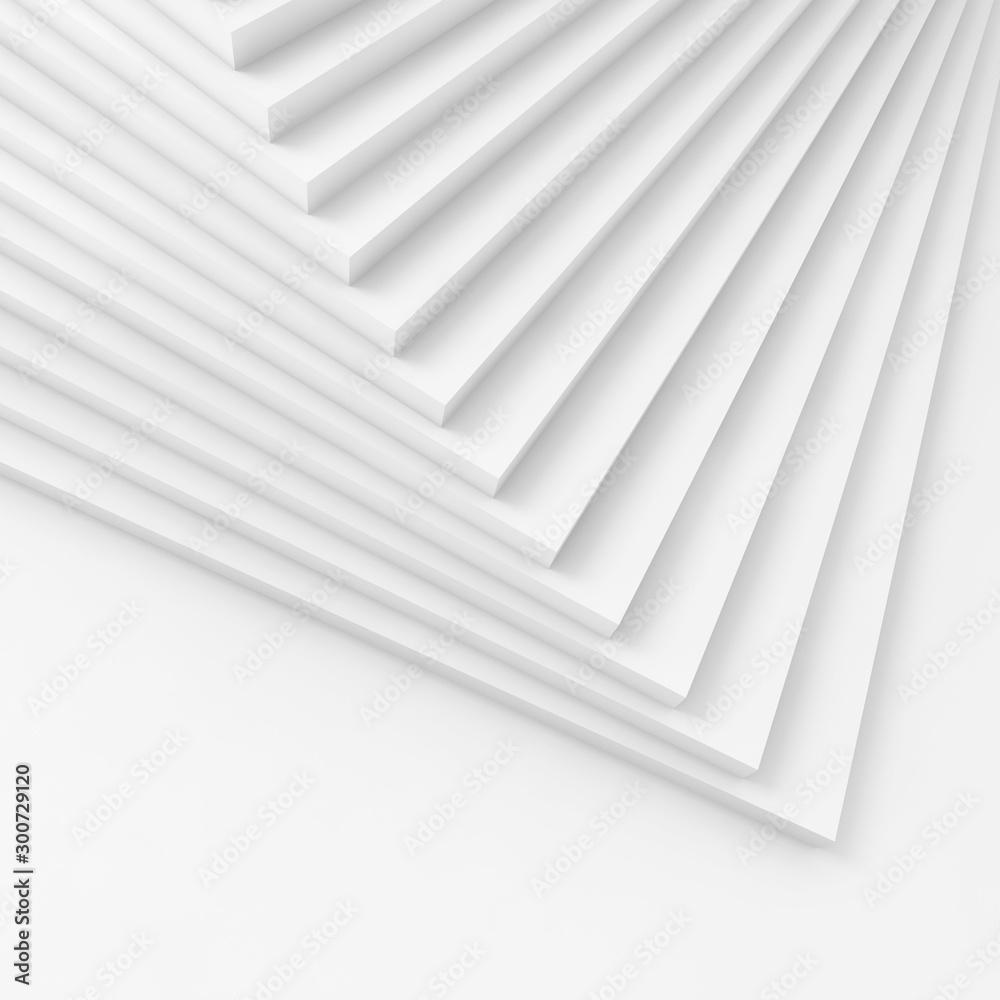 Abstract square digital background 3 d