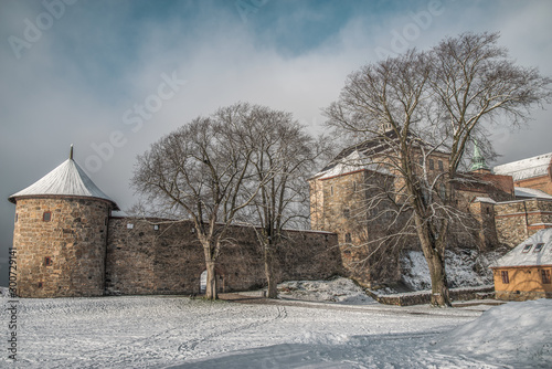 Stampa su Tela fortress of Akershus - a castle in Oslo