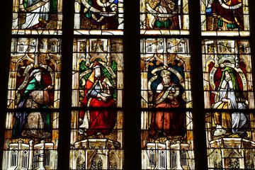 Beaumont le Roger, France - june 22 2017 : renaissance church