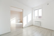 Leinwanddruck Bild - unfurnished house or apartment in bright colors