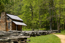 John Olivers Cabin In Cades Co...