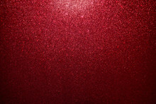 Red Glitter Abstract Background