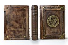 Vintage Book Captured In Stand...
