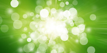 Green Bokeh Blur Background / ...
