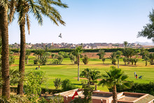 View Of Marrakech From A Golf ...