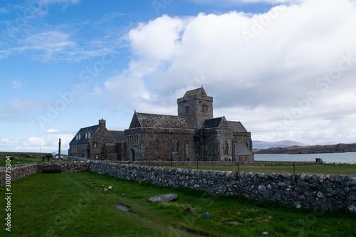Fototapeta Iona abbey in Scotland