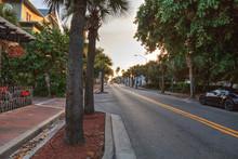 Sunrise Over Flagler Avenue In...