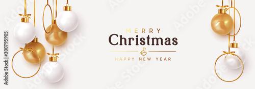 Slika na platnu Christmas banner