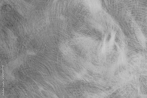 Stainless steel texture, black brushed metal plate background Fototapet