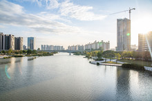 Binjiang Riverside Scenic Belt, Nansha District, Guangzhou, China