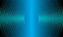 Sound Waves Oscillating Dark B...