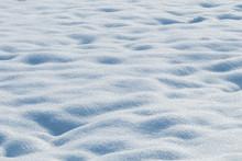 Deep Snow Drifts Winter Backgr...