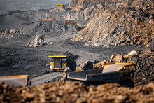 Open Pit Mine Industry. Big Ye...