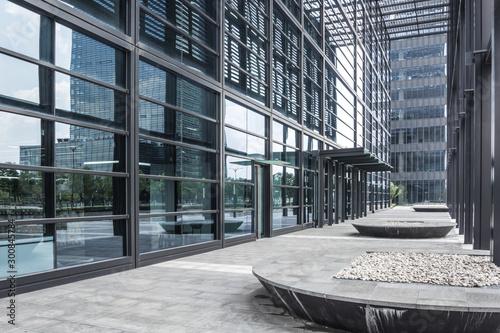Slika na platnu The Modern city business building
