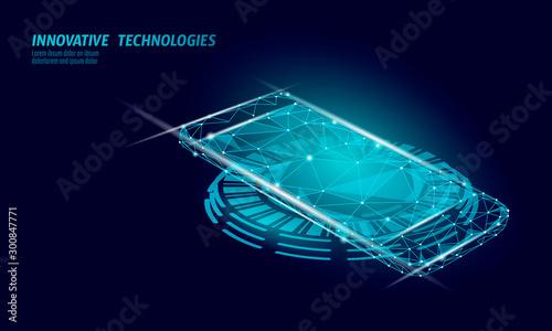 Fotografia 3D realistic inductive charging pad