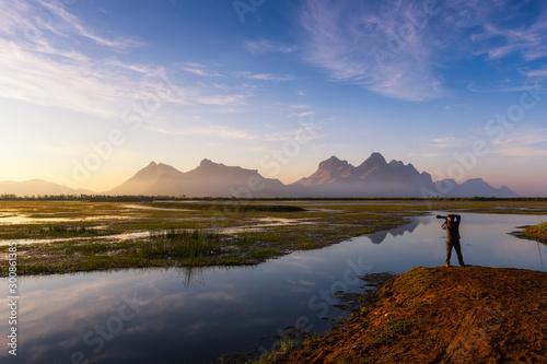 Landscape Khao Sam Roi Yot National Park.