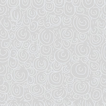 Two-tone Seamless Pattern With Curls. Ethnic Style.