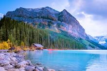 Lake Louise Canada Banff Natio...
