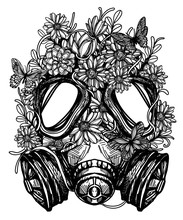 Flower In Gas Mask Toxicity Em...