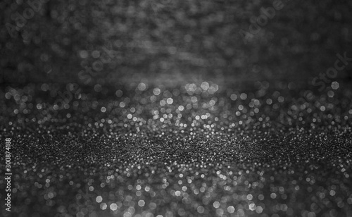 Black and white sparkling background Canvas-taulu