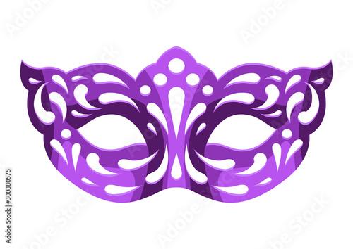Mardi Gras carnival mask. Fototapete