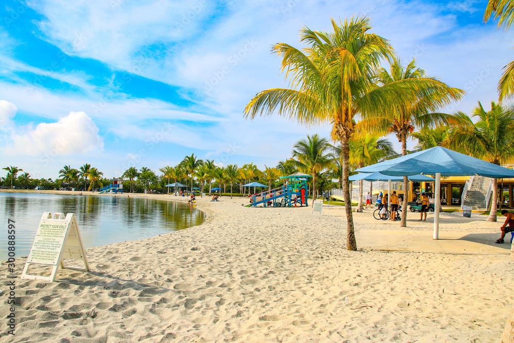Fototapety, obrazy: Plage Homestead Floride Miami USA