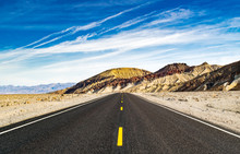 Road In The Desert Leading To ...
