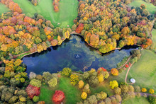 Aerial Photo In Autumn Showing...