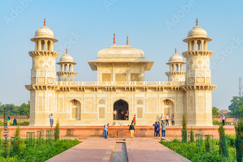 Fabulous view of the Tomb of Itimad-ud-Daulah (Baby Taj) Wallpaper Mural