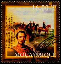 French Emperor Napoleon III At...