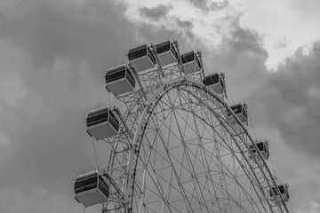 Partial view of Big wheel in International Drive area.