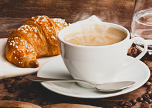 Cappuccino With Croissant
