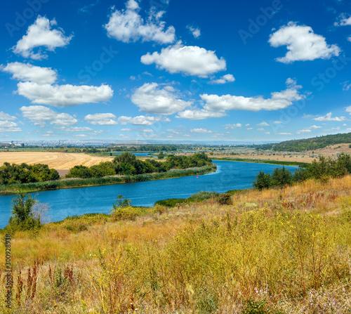 Fotografia Summer Southern Bug river, Ukraine